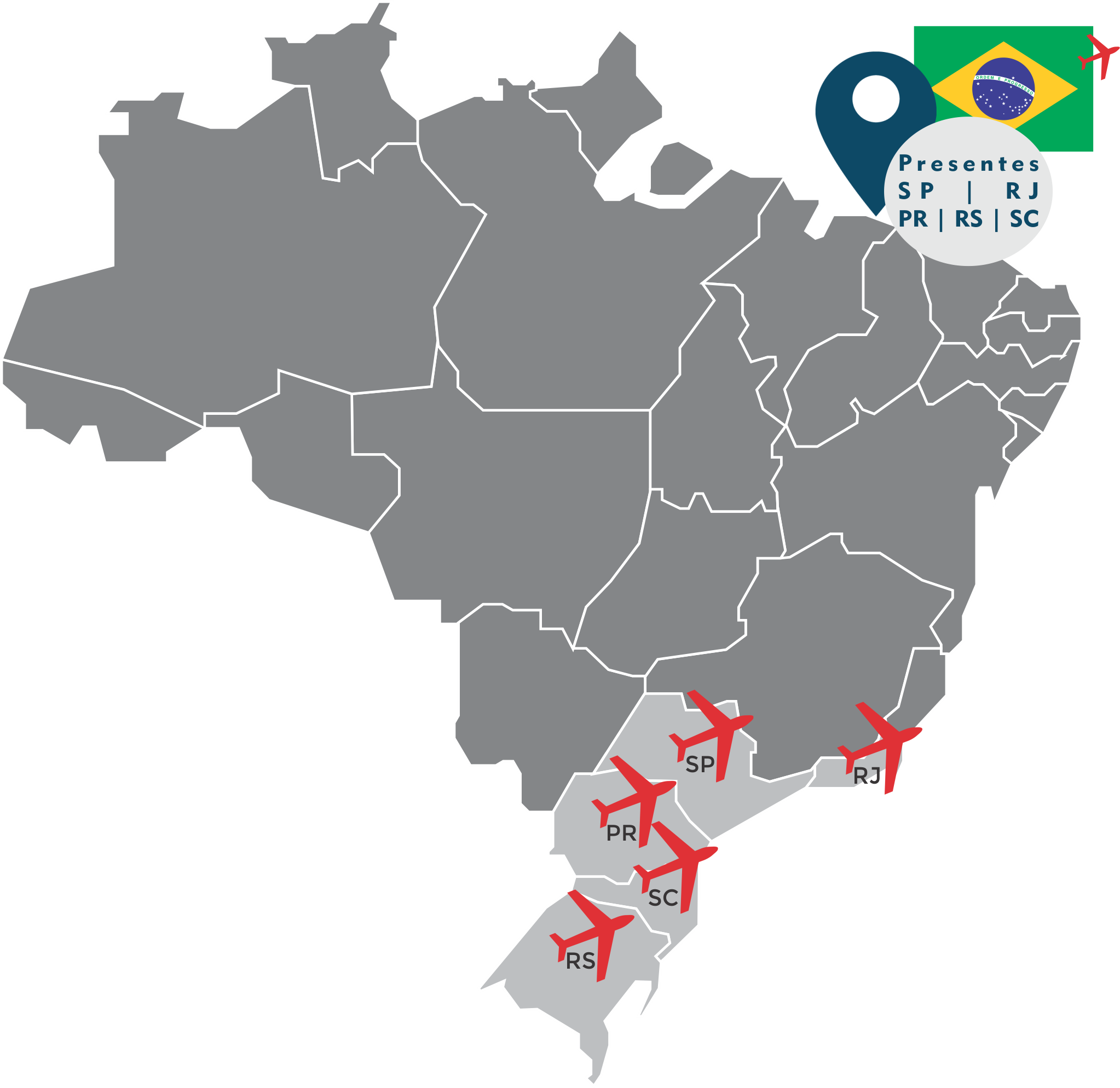 MAPA DO BRASIL TOP